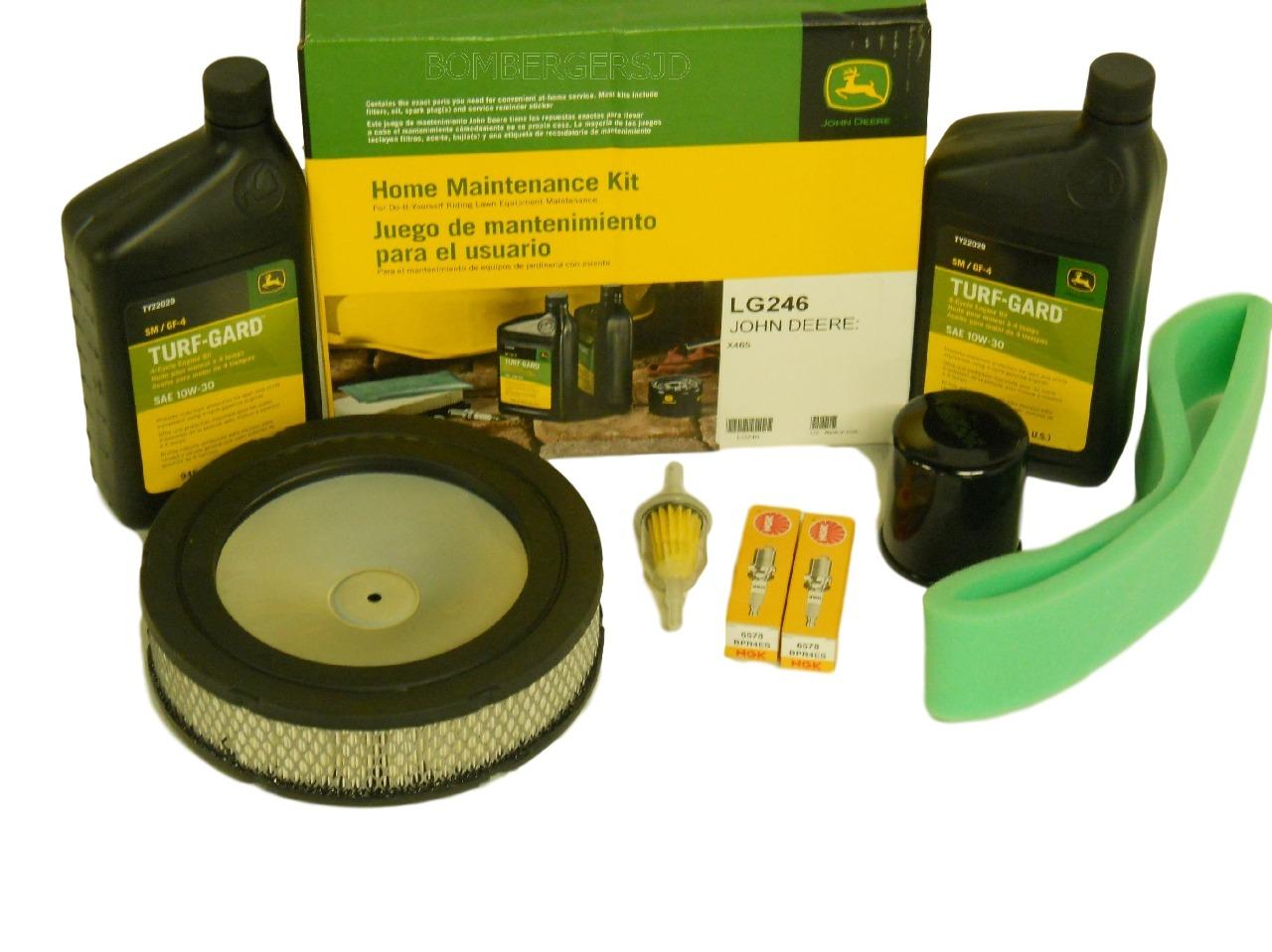 John Deere Home Maintenance Service Kit LG246 X465 Do It ...