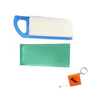 Amazon.com : HURI Air Filter Kit for John Deere 102 105 ...