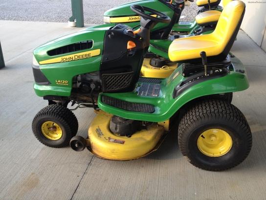 2007 John Deere LA120 - Lawn & Garden Tractors - John ...