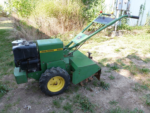 John Deere 820 rear tine tiller | Thornhill Auction | Flickr