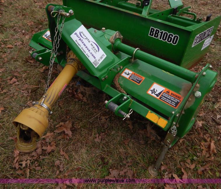 John Deere 647 rotary tiller   no-reserve auction on ...