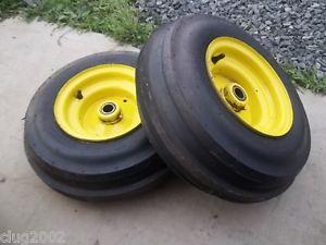 John Deere Front Rims wth Firestone 3 Rib Tires 16x6 50x8 ...