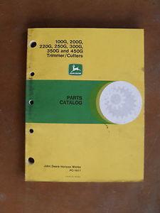 JOHN DEERE TRIMMER/CUTTER 100G, 200G, 220G, 250G, 300G ...