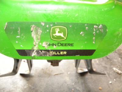 JOHN DEERE GAS TILLER ROTOTILLER WEED EATER ATTACHMENT
