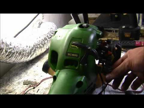 John Deere C1200 String Trimmer Repair | How To Save Money ...
