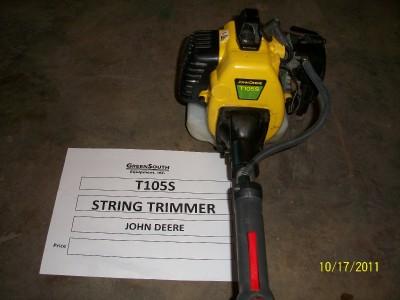 JOHN DEERE T105S STRING TRIMMER NEW | eBay