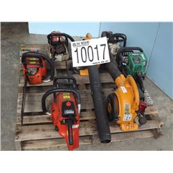 MISC CHAIN SAWS, BLOWERS, TRIMMER - J.M. Wood Auction ...