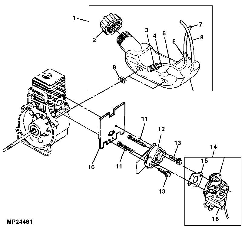 John Deere S1400 Parts Diagram John Deere S1400 ...