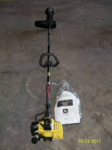 John Deere T26SB String Trimmer Parts List and Owners Manual