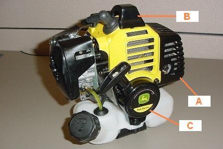 John Deere T105s Trimmer Parts | Car Interior Design