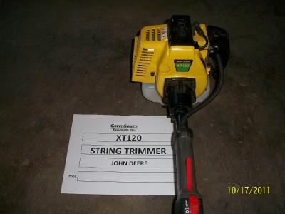 JOHN DEERE XT120 STRING TRIMMER NEW
