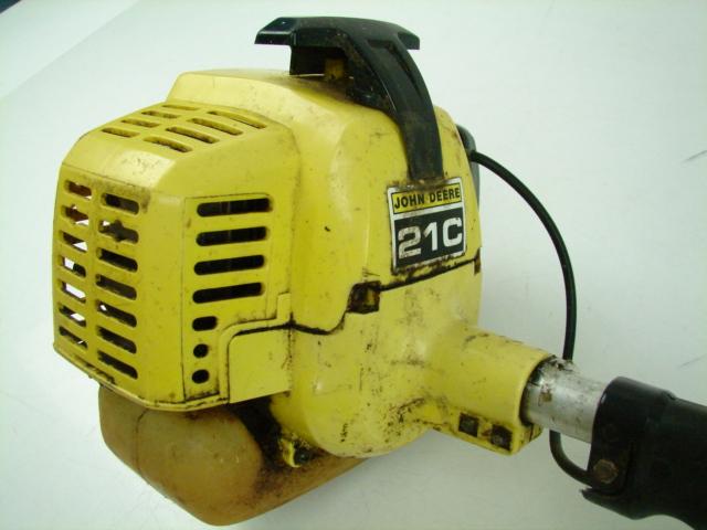 John Deere 21C Gas String Lawn Trimmer Weed Cutter Wacker ...