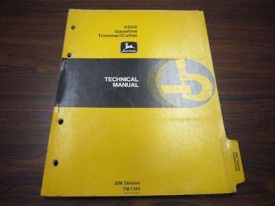 John-Deere-450G-Gasoline-Trimmer-Weedeater-Technical-Manual