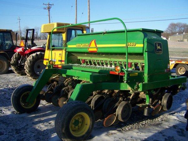 149: John Deere 1560 No Till Drill for Tractors w/ Doll ...
