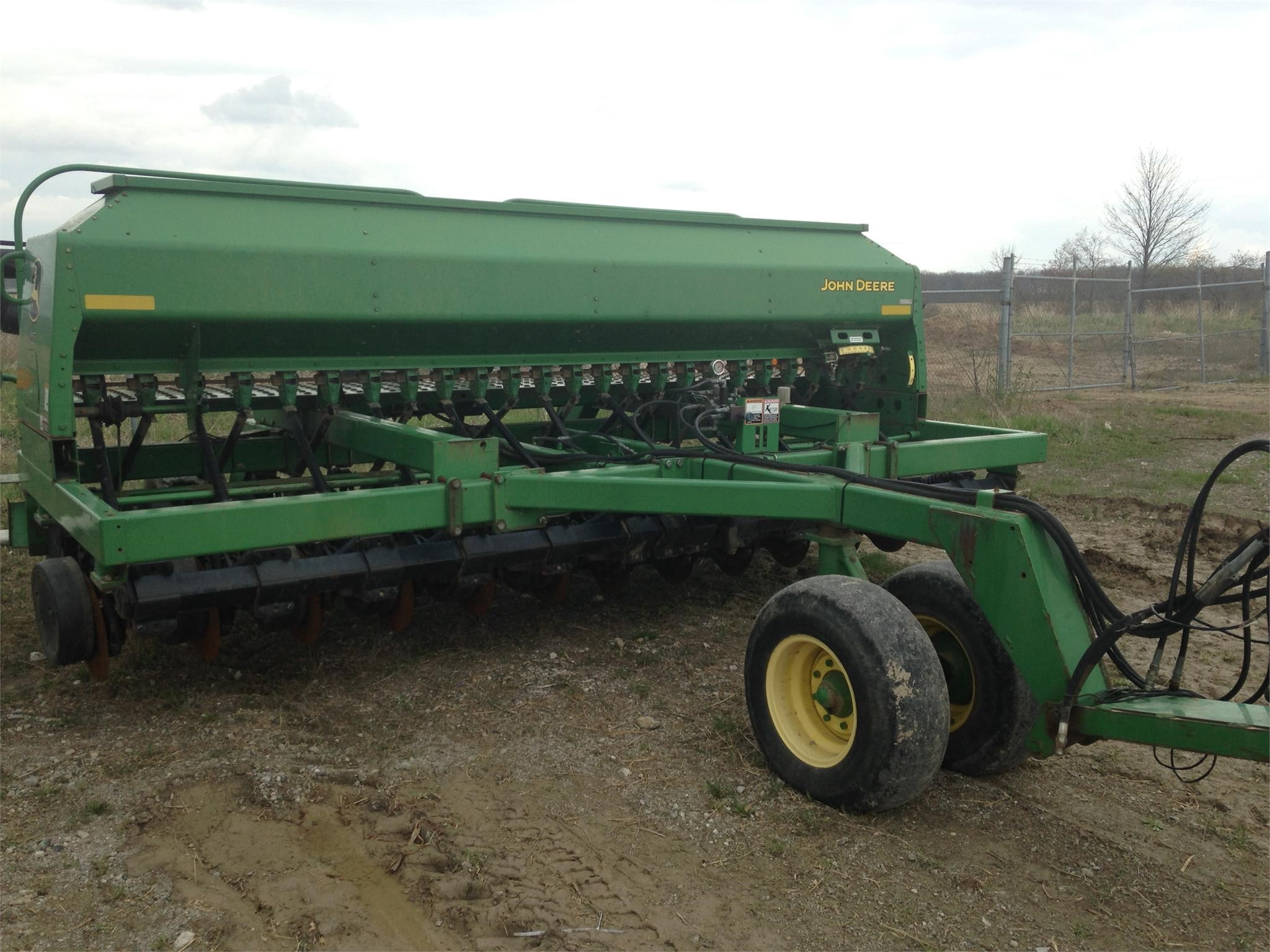 Wisconsin Ag Connection - JOHN DEERE 1590 Grain Drills for ...