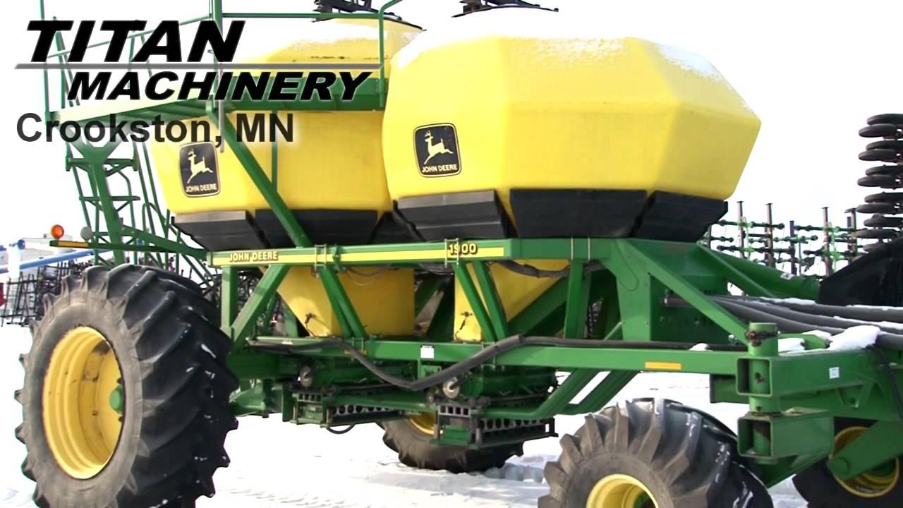 John Deere 1820 Air Drill Sold on ELS! - YouTube