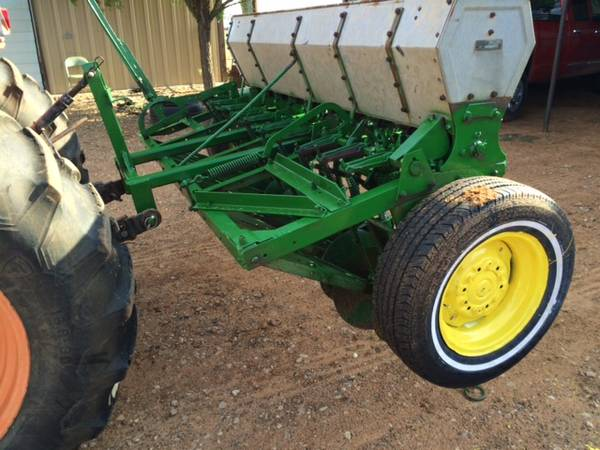 8ft John Deere Grain Drill - $1750 (Ropesville)   Garden ...