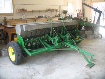 1956 John Deere Model B Grain Drill - TractorShed.com