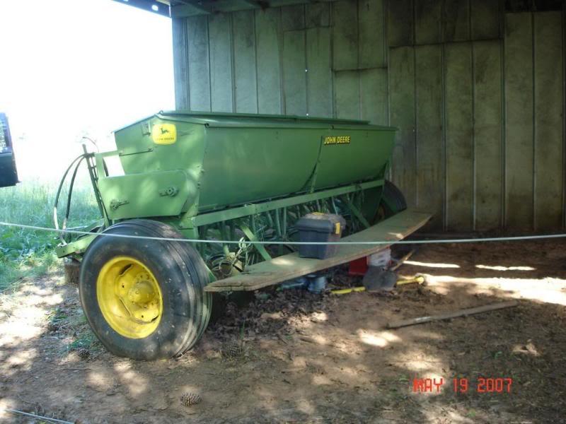 John Deere FB-B Grain Drill by Warren Clayton | Photobucket