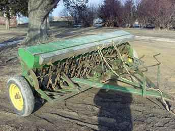 Used Farm Tractors for Sale: John Deere FB Grain Drill ...