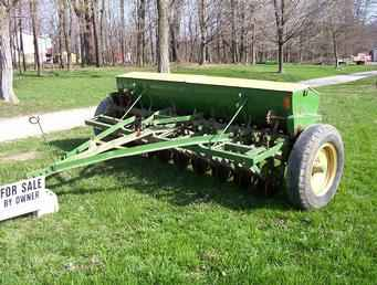 Used Farm Tractors for Sale: John Deere FB-B 7-17 Grain ...