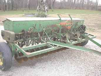 Used Farm Tractors for Sale: John Deere FB B Grain Drill ...