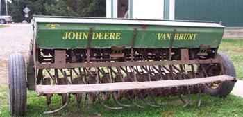 Used Farm Tractors for Sale: John Deere Van Brunt Drill ...