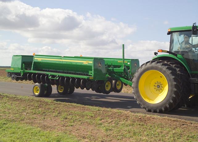 John Deere 455 Front-Folding Grain Drill Conventional-Till ...