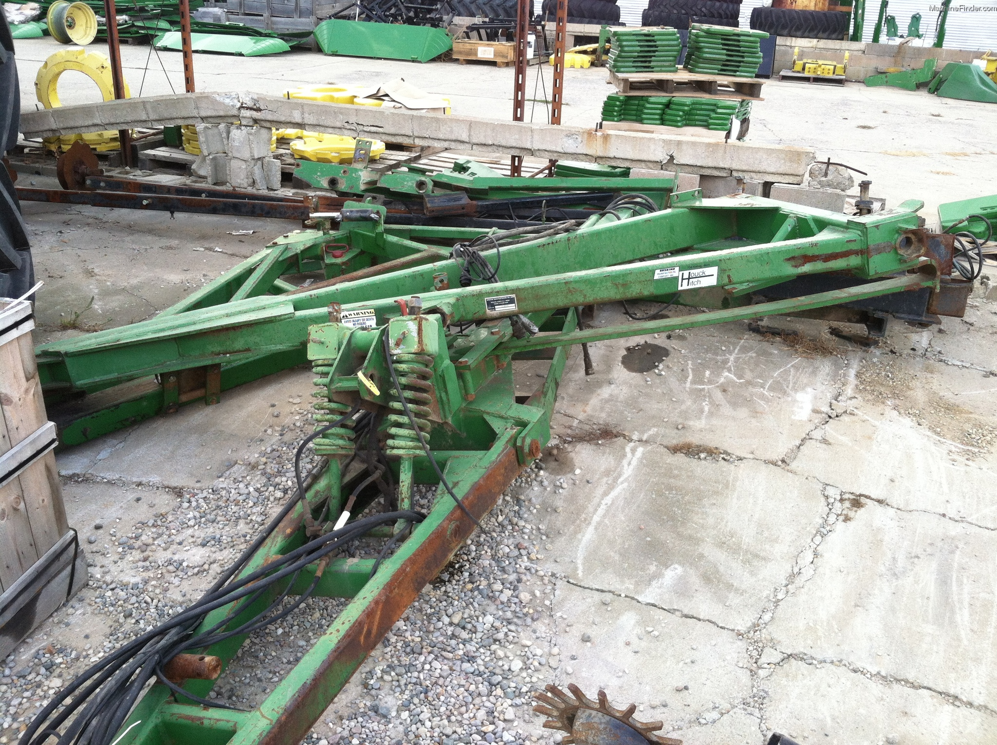Houck TANDEM HITCH AND MARKERS Planting & Seeding - Box ...