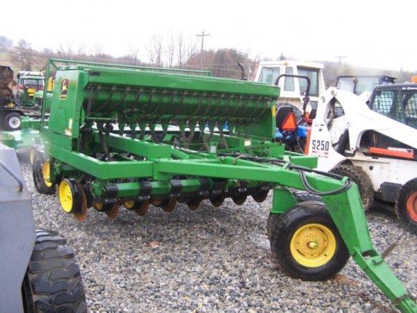 288: John Deere 750 10' No Till Drill for Tractors : Lot 288