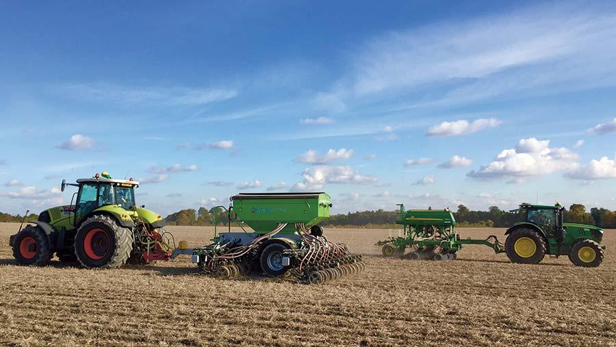 John Deere 750A comes top in Cambridgeshire drill trial ...