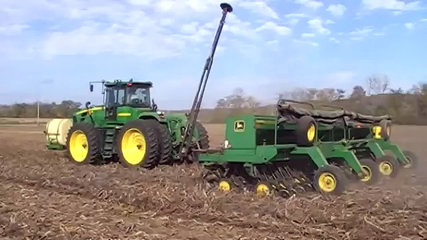 Gleaner R75 Combine Harvesting Wheat - Dailymotion Video