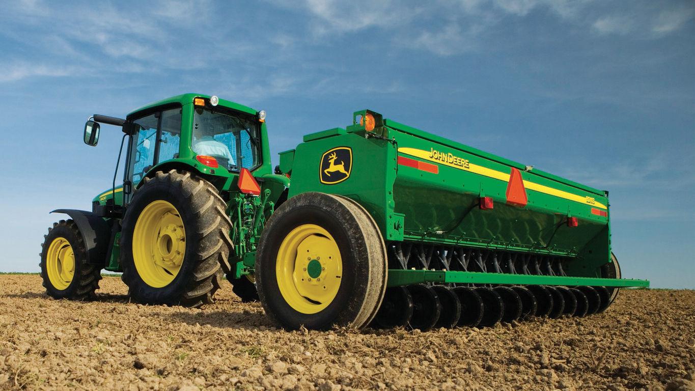 Seeding Equipment | BD11 Series End-Wheel Grain Drills ...