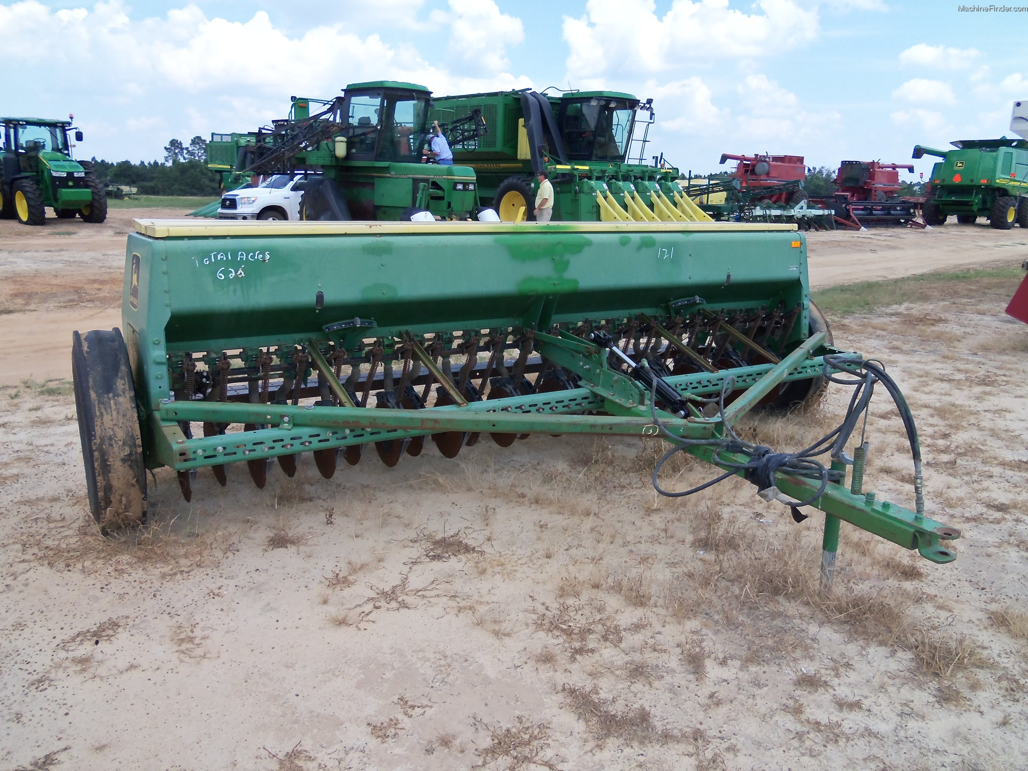 John Deere 8300 Grain Drill Planting & Seeding - Box ...