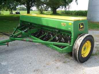 Used Farm Tractors for Sale: 8300 John Deere Grain Drill ...