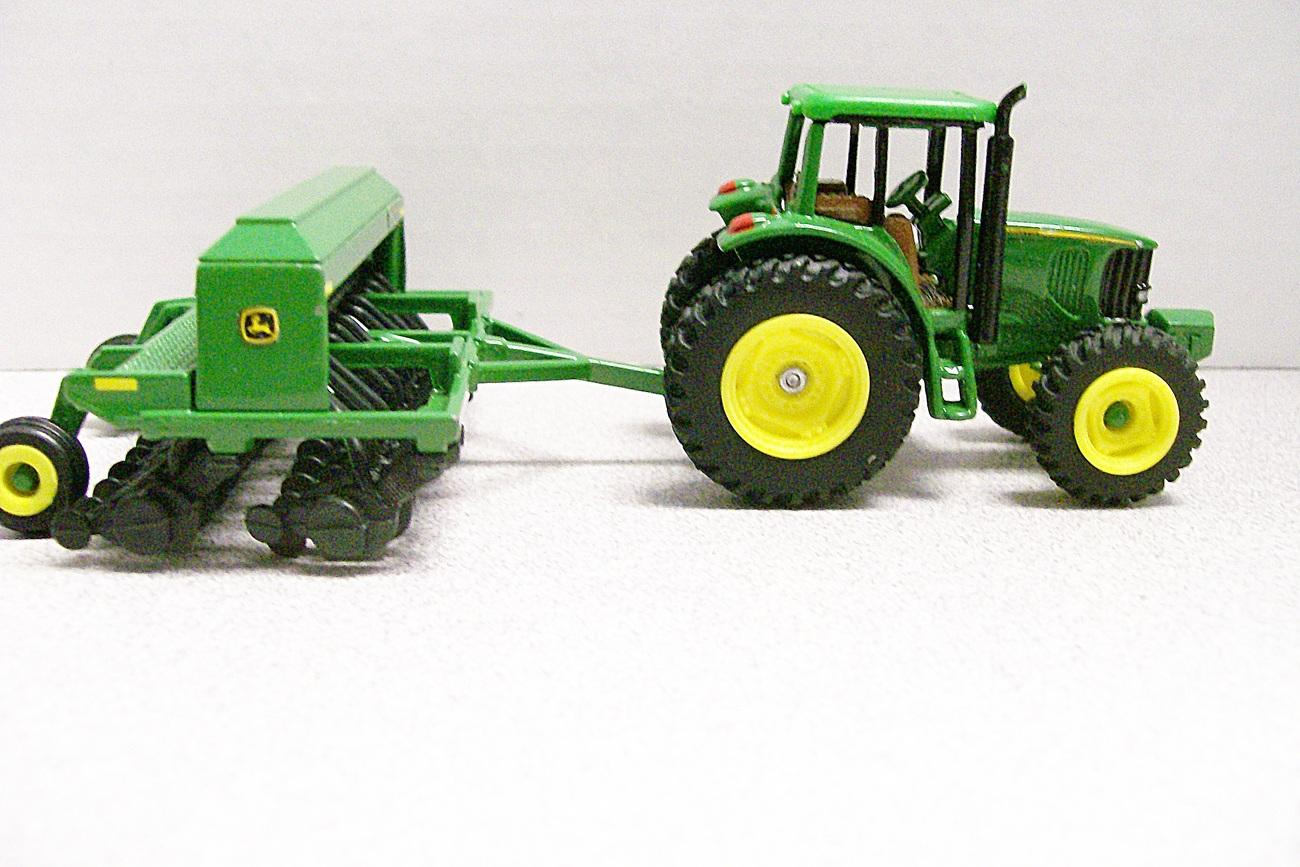 John Deere 6990 Tractor and 1590 Grain Drill Diecast - Ad ...