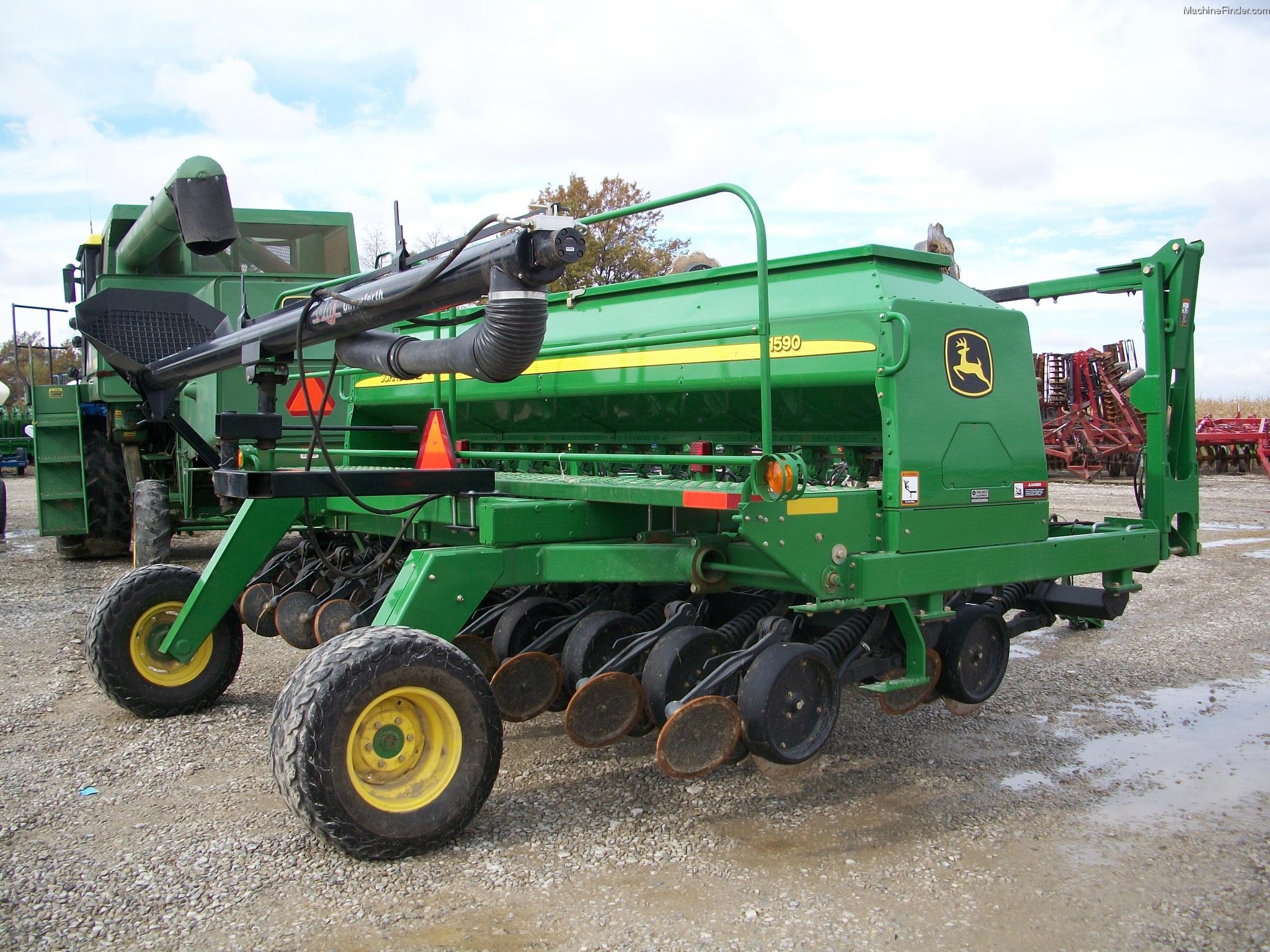 2008 John Deere 1590 Planting & Seeding - Box Drills ...