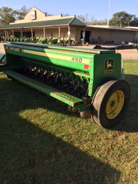 1990 John Deere 450 Drill/Caddy #N00450X001789 SUNSOUTH ...