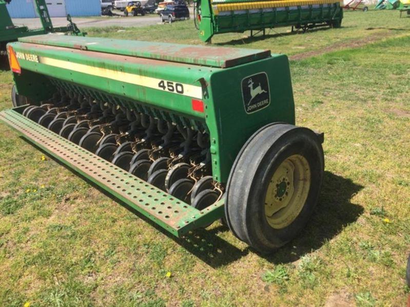 1993 John Deere 450 Drill/Caddy #N00450X007006 James River ...
