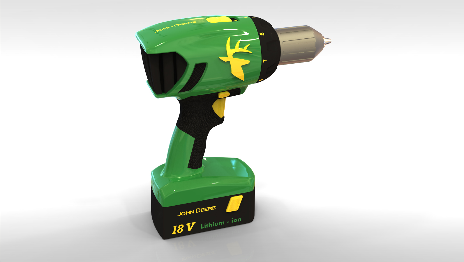 John Deere Cordless Power Drill by Marcus Lundberg at ...
