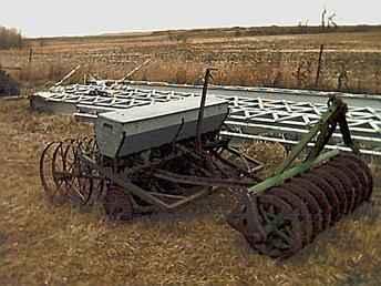Used Farm Tractors for Sale: John Deere Pony Drill (2004 ...