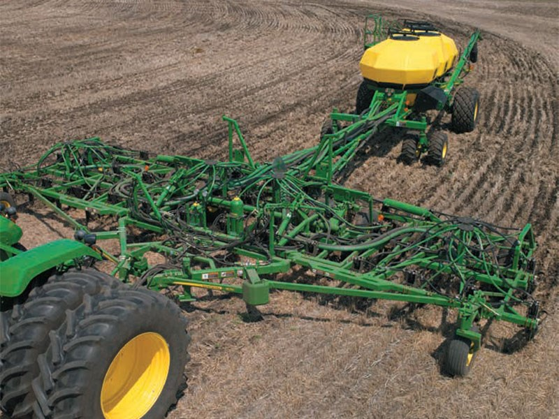 New JOHN DEERE 1870 Air-Hoe Drill - 12.2m Tillage and ...
