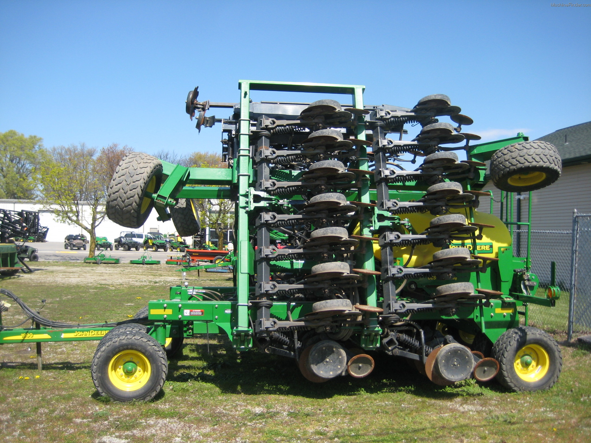 2010 John Deere 1990 Planting & Seeding - Air Drills ...