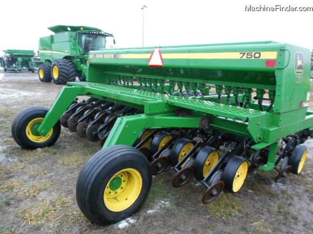 1992 John Deere 750 Planting & Seeding - Box Drills - John ...