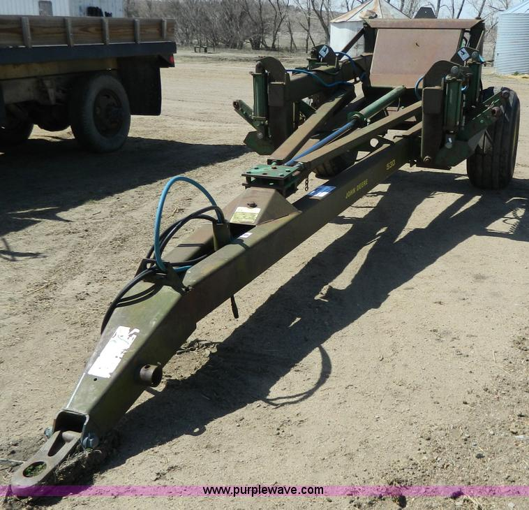 John Deere 530 double drill hitch | no-reserve auction on ...
