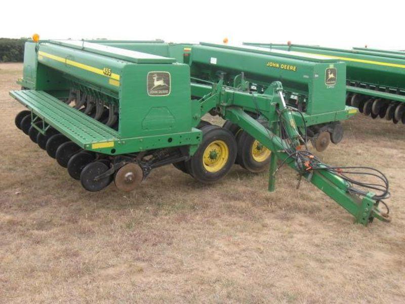 2000 John Deere 455 Drill/Caddy #5203 KanEquip, Inc ...