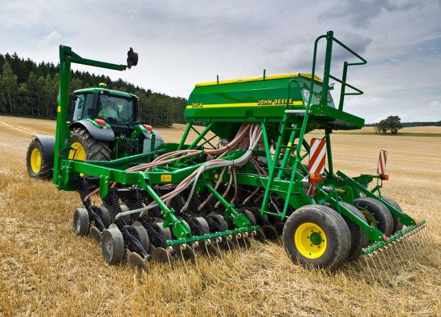 John Deere 750A Box Drills Planting and Seeding