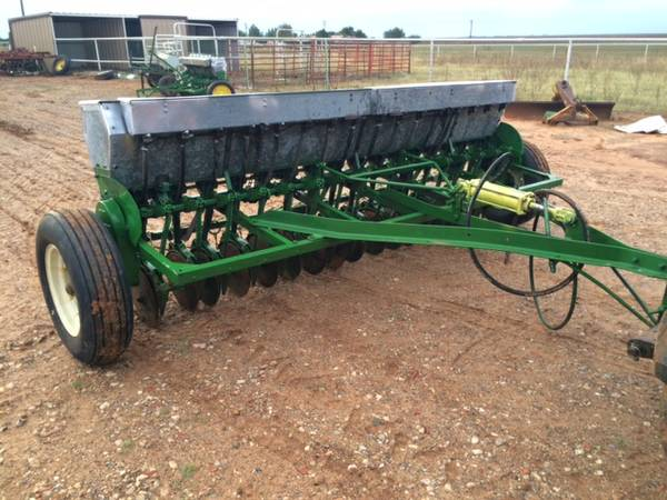 John Deere Grain Drill with Grass boxes - $2800 (Lubbock ...