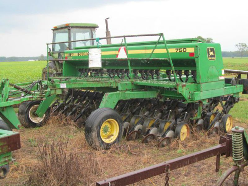 1992 John Deere 750 Drill/Caddy RICK HAWKINS EQUIPMENT ...