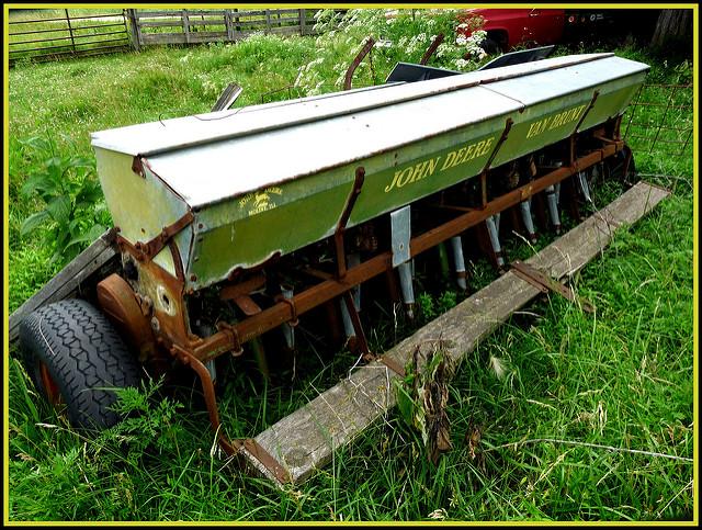 John Deere Grain Drill | Flickr - Photo Sharing!